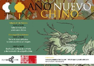 Actividades infantiles por el Año Nuevo Chino en Sevilla
