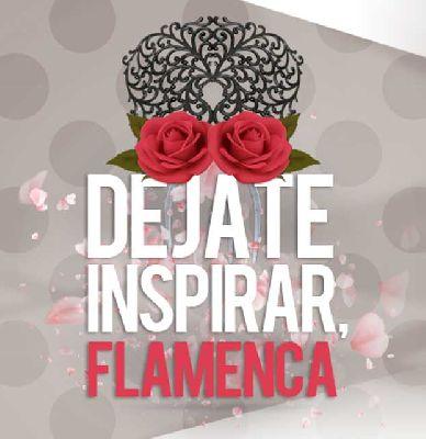 Cartel del desfile de moda flamenca en el Nervión Plaza de Sevilla