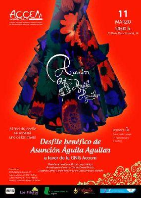 Desfile benéfico de moda flamenca en Sevilla 2016