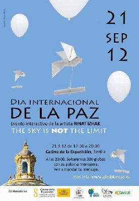 Actividad por el Día Internacional de la Paz en Sevilla