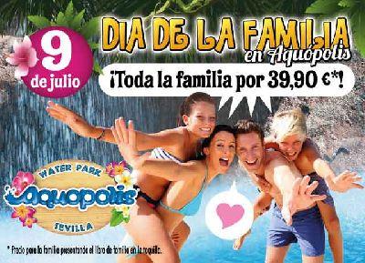 Día de la Familia 2016 en Aquópolis el parque acuático de Sevilla