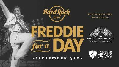 Concierto por el Día Freddie Mercury 2018 en el Hard Rock Café de Sevilla