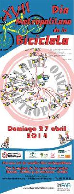 Día metropolitano de la Bicicleta 2014 en Sevilla