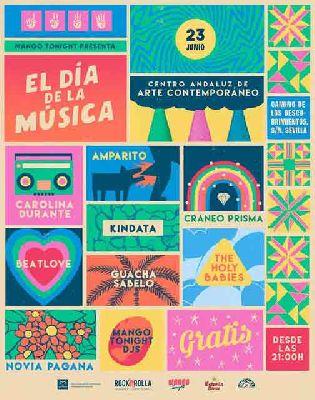 Concierto: Día de la música 2018 en el CAAC Sevilla