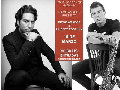 Concierto: Diego Amador y Llibert Fortuny en el Lope de Vega Sevilla