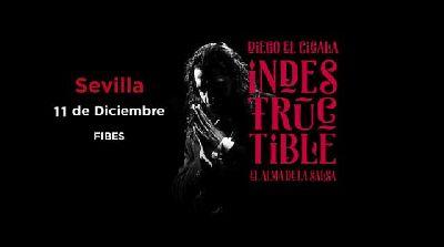 Concierto: Diego el Cigala presenta Indestructible en Fibes Sevilla
