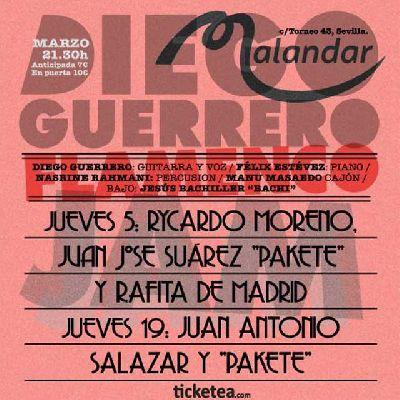 Flamenco: Diego Guerrero Flamenco Jam en Malandar Sevilla