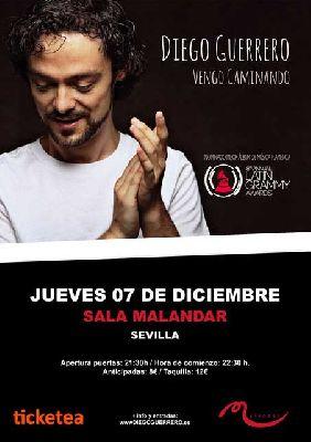 Concierto: Diego Guerrero en Malandar Sevilla 2017