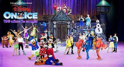 Foto promocional del espectáculo Disney On Ice 100 años de magia
