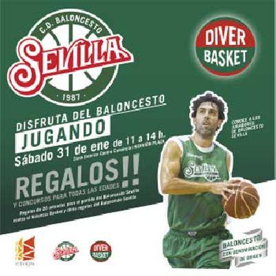 Diverbasket Baloncesto Sevilla en el Nervión Plaza de Sevilla