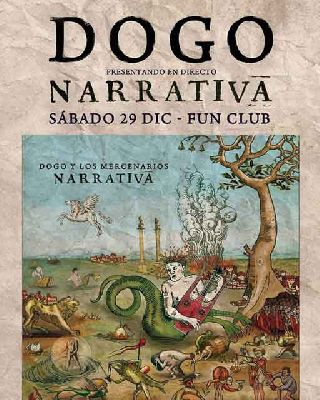 Cartel del concierto de Dogo en FunClub Sevilla diciembre 2018