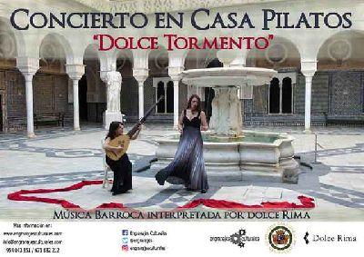 Concierto: Dolce Tormento en la Casa de Pilatos de Sevilla (2017)