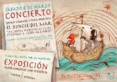 Concierto: El doncel del mar en la Casa Tomada de Sevilla