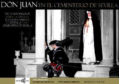 Visita teatralizada Don Juan en el Cementerio de Sevilla