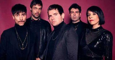 Foto promocional del grupo Dorian
