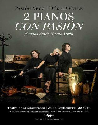 Concierto: Pasión Vega estrena en Sevilla Dos pianos con Pasión