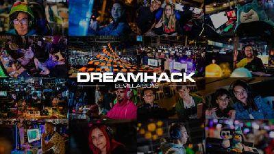 Cartel del festival DreamHack Sevilla 2019