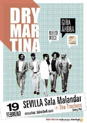 Concierto: Dry Martina en Malandar Sevilla (febrero 2016)