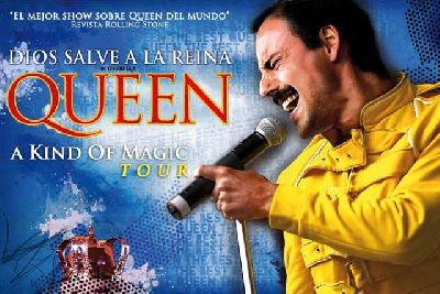 Concierto: God Save The Queen DSR en Sevilla A Kind of Magic Tour 2015
