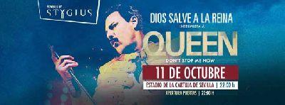 Concierto: God Save The Queen DSR en Sevilla 2017