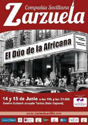 Zarzuela: El dúo de la africana en la Sala Joaquín Turina Sevilla