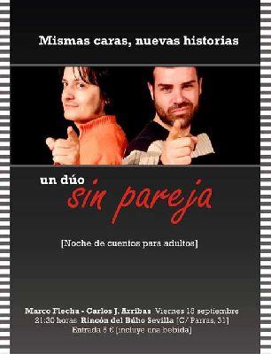 Un dúo sin pareja en el Rincón del Búho de Sevilla (2015)