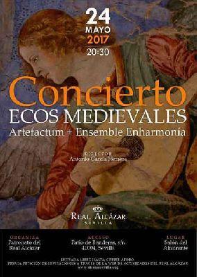 Concierto: Ecos Medievales en el Alcázar de Sevilla