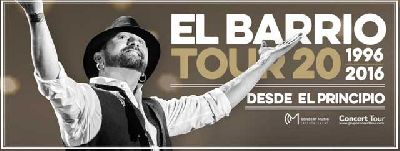 Concierto: El Barrio en Sevilla Tour 20 (junio 2016)