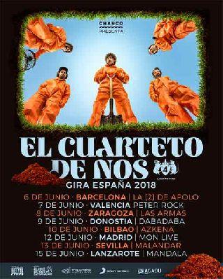 Concierto: El Cuarteto de Nos en Malandar Sevilla 2018