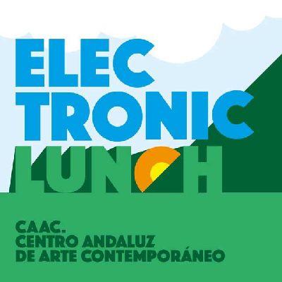 Logotipo de Electronic Lunch en el CAAC de Sevilla