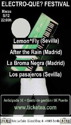 Concierto: Electro-Qué? Festival en sala La Calle Sevilla