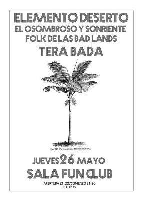 Concierto: Elemento Deserto en FunClub Sevilla