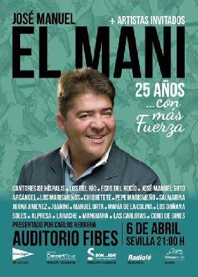 Concierto: El Mani, 25 años... con más fuerza en Sevilla (Fibes)