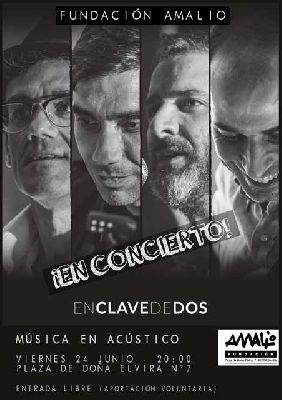 Concierto: En clave de dos en la Fundación Amalio Sevilla