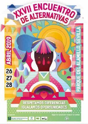 Cartel del 27 Encuentro de Alternativas de Sevilla