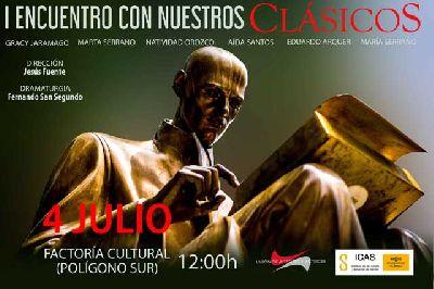 Teatro: Encuentro con nuestros clásicos en la Factoría Cultural de Sevilla