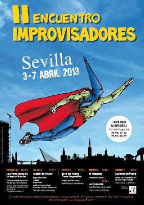 Teatro: II Encuentro de Improvisadores de Sevilla 2013