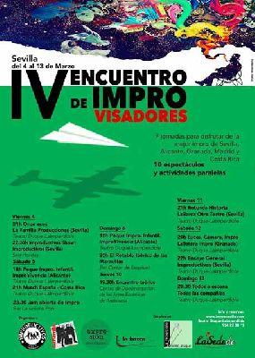 Teatro: IV Encuentro de Improvisadores de Sevilla 2016