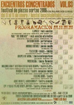 Encuentros concentrados volumen 3 en Sevilla