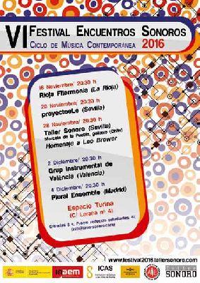 Encuentros Sonoros 2016 en el Espacio Turina de Sevilla