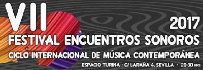 Encuentros Sonoros 2017 en el Espacio Turina de Sevilla