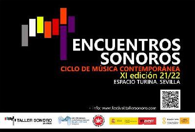 Cartel del XI festival Encuentros Sonoros 2021-2022 en Sevilla