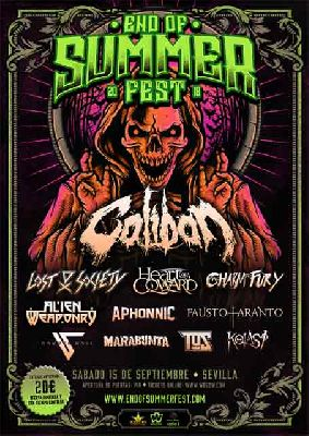 Concierto: End of the Summer Fest en Custom Sevilla 2018