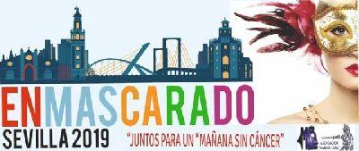 Cartel del evento benéfico Enmascarado 2019 en Sevilla