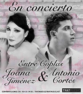 Concierto: Joana Jiménez y Antonio Cortés en el Teatro Quintero Sevilla
