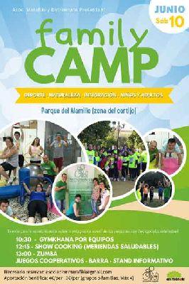 Family Camp de Entreenate en el parque del Alamillo de Sevilla
