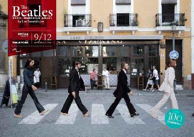 Concierto: Los Escarabajos en Malandar Sevilla 2017