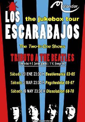 Concierto: Los Escarabajos Jukebox Tour 2018 en Malandar Sevilla