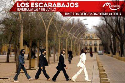 Concierto: Los Escarabajos en Malandar Sevilla 2015