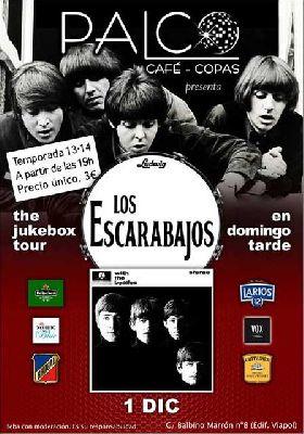 Concierto: Los Escarabajos en la sala Palco Café de Sevilla